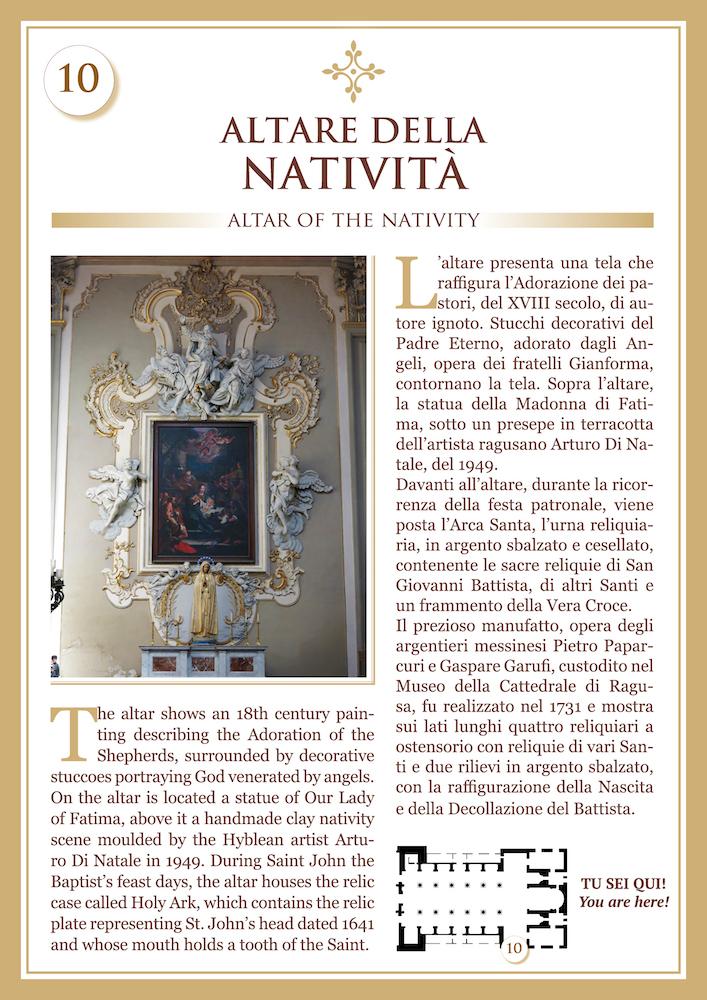 Altare della Natività